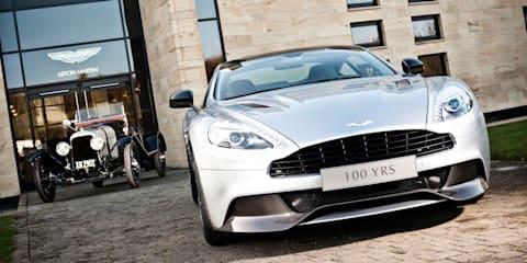Aston Martin celebrating 100 years in 2013