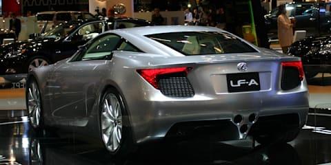 Lexus LF-A Roadster 2008 London Motorshow