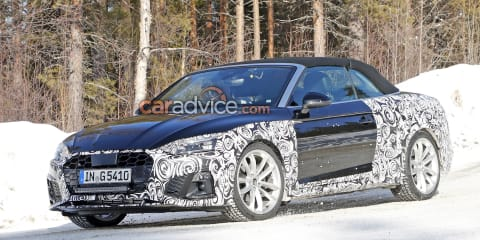 2020 Audi A5 Cabriolet spied