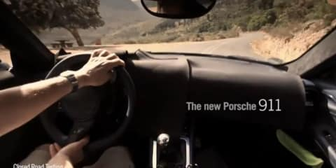 2012 Porsche 911 video confirms seven-speed manual transmission
