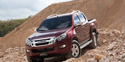 2012 Isuzu D-MAX launches in Australia