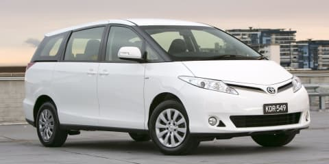 Toyota Tarago set to continue unchanged