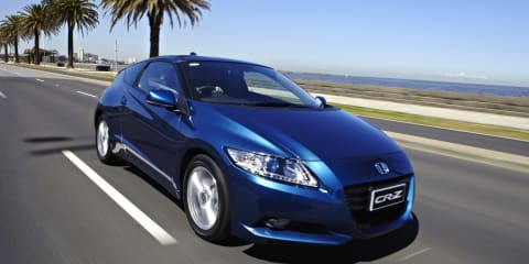 Honda CR-Z Review: Luxury spec