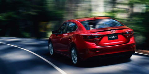 Mazda 3 sedan: fresh gallery leaked