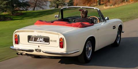 Aston Martin unveils reversible EV conversion for classics