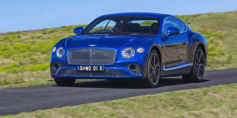 2018-19 Bentley Continental GT recalled