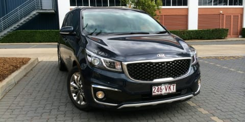 2015 Kia Carnival Review:: Platinum diesel