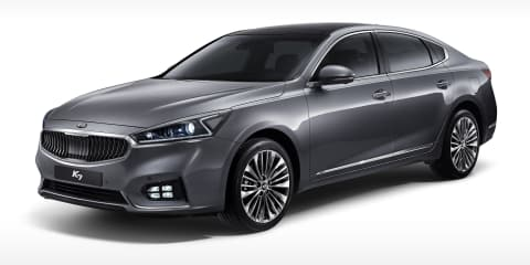 2016 Kia Cadenza revealed for overseas markets