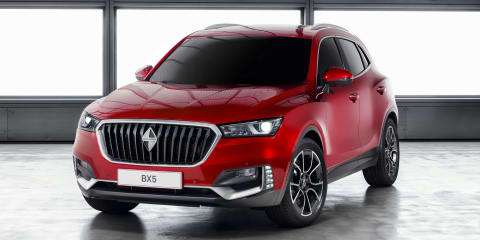 Borgward BX5 and Projekt BX6 TS unveiled in Geneva