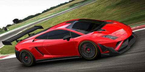 Lamborghini Gallardo GT3 FL2 racer revealed