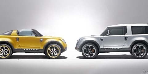 Land Rover DC100 & DC100 Sport Preview