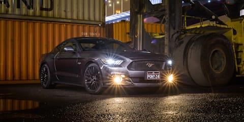 Ford Mustang V8 dominating sales split