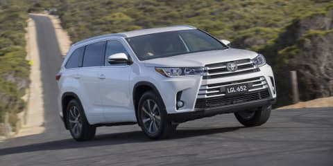 Toyota Kluger recalled for brake fix