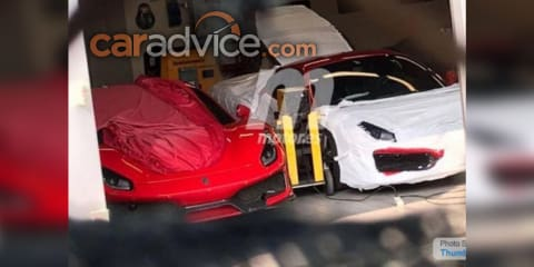 Ferrari 488 'Speciale' snapped