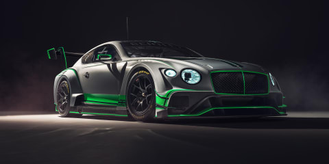 2018 Bentley Continental GT3 race car unveiled