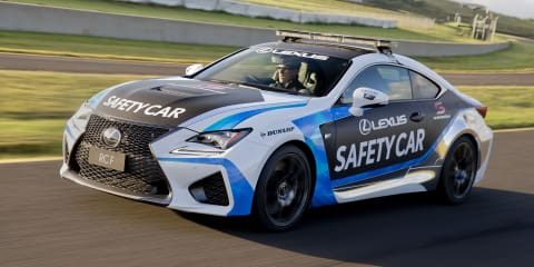 Lexus RC F to be V8 Supercars safety car for 2015 season