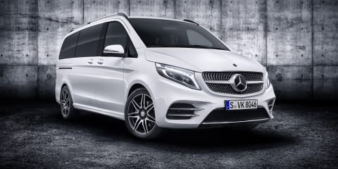 2019 Mercedes-Benz V-Class revealed