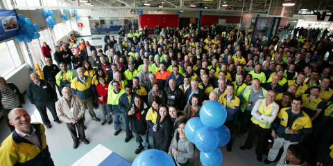 Ford Australia celebrates 50 years at Broadmeadows