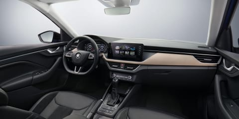 2019 Skoda Scala interior revealed