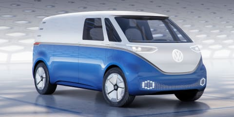 Volkswagen ID Buzz Cargo concept unveiled