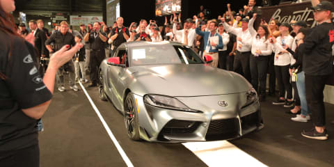 Toyota Supra: First production example sells for US$2.1 million