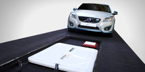 """Volvo wireless EV charging study shows """"great potential"""""""