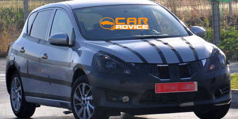 Nissan Pulsar hatch spied preparing for European launch