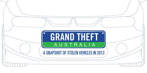Australia's most stolen cars revealed