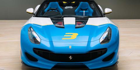 Ferrari SP3JC unveiled