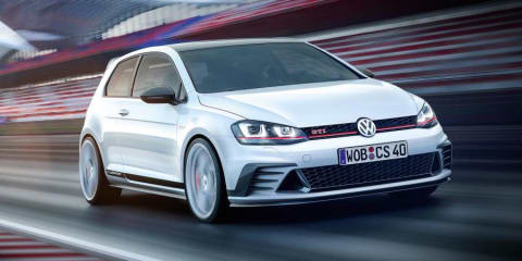 Volkswagen Golf GTI Clubsport concept previews anniversary edition