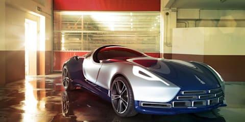 Umberto Palermo Design Vittoria concept at Qatar motor show