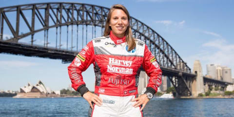 Simona de Silvestro breaks the Aussie motorsport glass ceiling