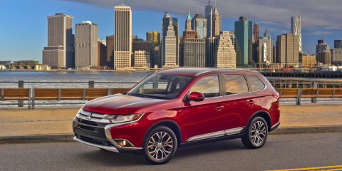 2016 Mitsubishi Outlander revealed - UPDATE