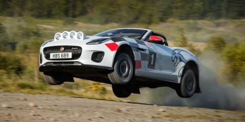 Jaguar F-Type rally convertibles unveiled