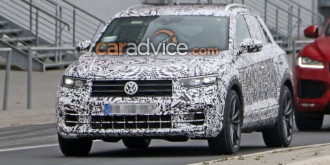 2019 Volkswagen T-Roc R spied in production body