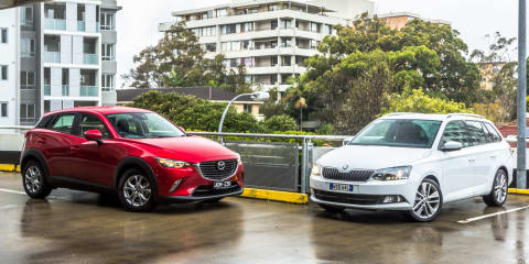 Mazda CX-3 v Skoda Fabia wagon : Comparison Review