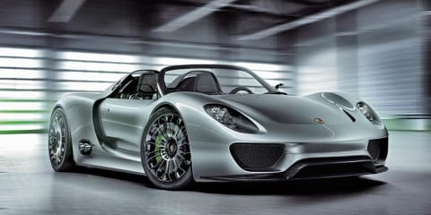 Video: Porsche 918 Spyder super-sports concept car