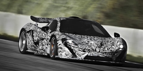McLaren P1 production car leaked
