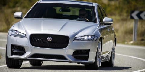 2016 Jaguar XF pricing and specifications