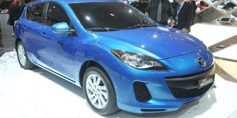 Mazda3 SKYACTIV at Australian International Motor Show 2011
