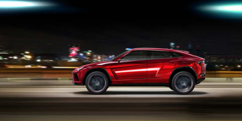 Lamborghini Urus SUV: official images leaked