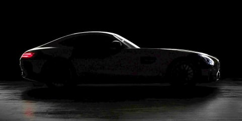 Mercedes-AMG GT body, engine note teased