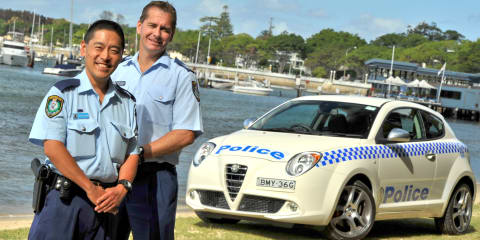 Alfa Romeo MiTo joins Police force