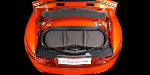 Jaguar F-Type Roadster's new custom boot bag took 900 hours to create