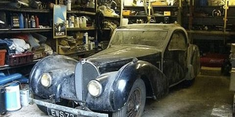Rare Bugatti found could fetch $12m+