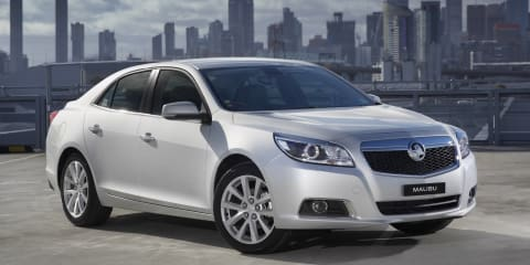 Holden Malibu: medium sedan previewed ahead of 2013 launch
