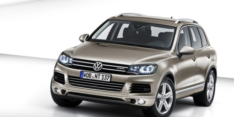 2010 Volkswagen Touareg revealed