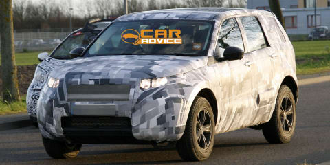 Land Rover 'baby Discovery': Freelander successor spied