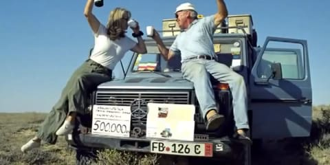 Gunther Holtorf completes 884,000km world tour in a Mercedes-Benz G-Wagen
