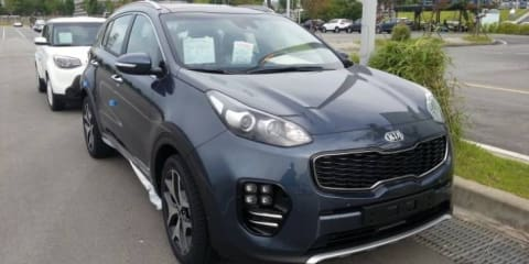 2016 Kia Sportage caught without disguise - UPDATE 2, WITH CABIN SHOT